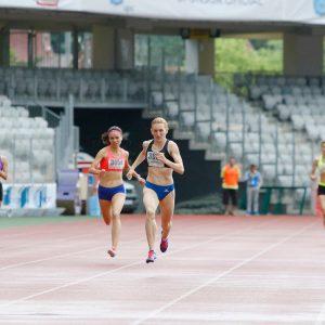 Medalie de aur la Campionatul Balcanic cu ștafeta feminină