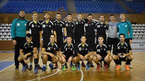 Handbaliștii joacă acasă cu Universitatea Craiova