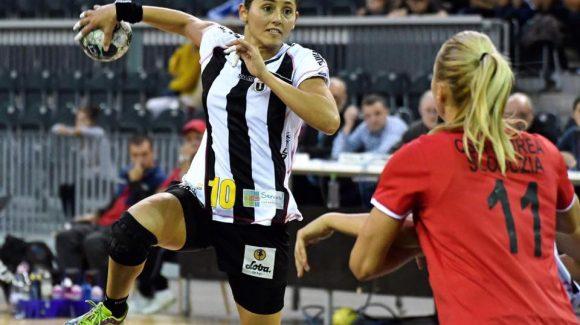 Echipa de handbal feminin a trecut la pas de Unirea Slobozia