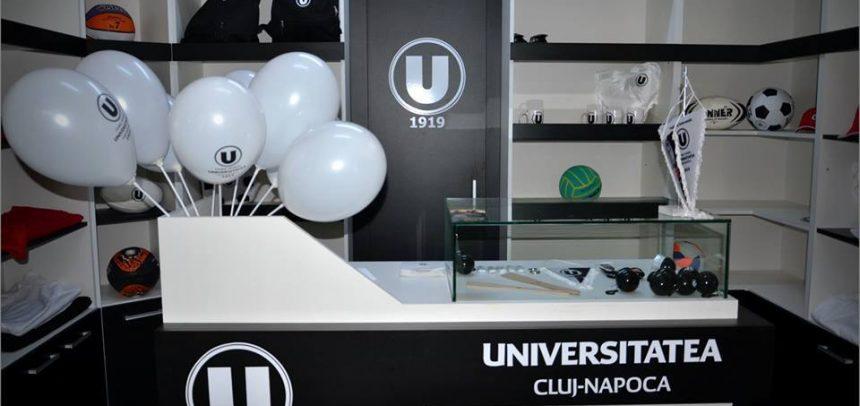 """Lansarea magazinului oficial CS """"U"""""""