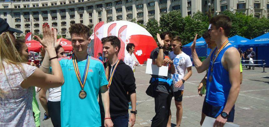 """Cinci medalii pentru """"U"""" la Campionatul Național de Maraton"""