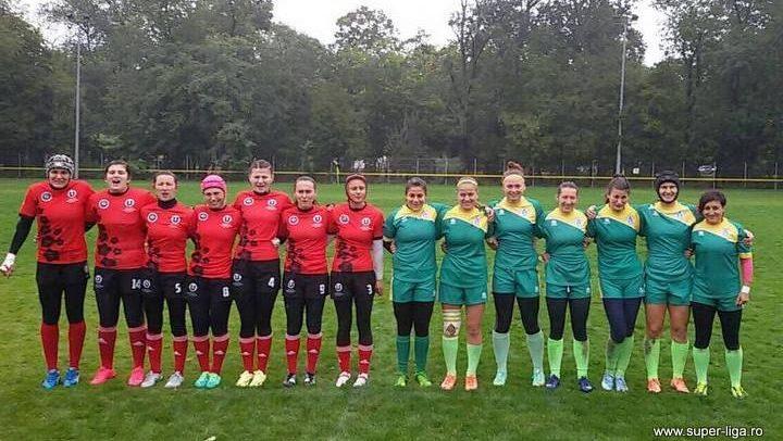Rugbystele s-au întors de la București cu o victorie și două înfrângeri