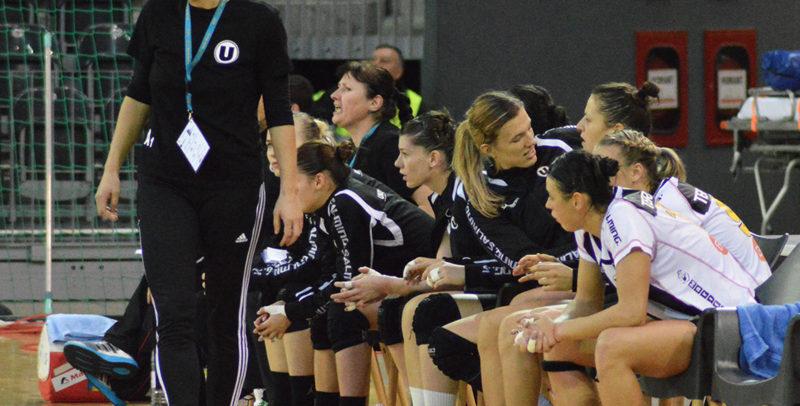Echipa de handbal feminin se deplasează la Galați