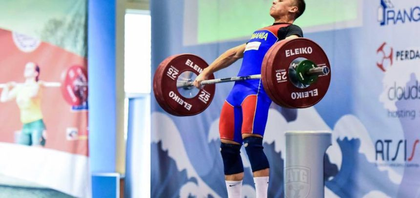 Halterofilul Darius Suiugan participă la Campionatul European de Tineret