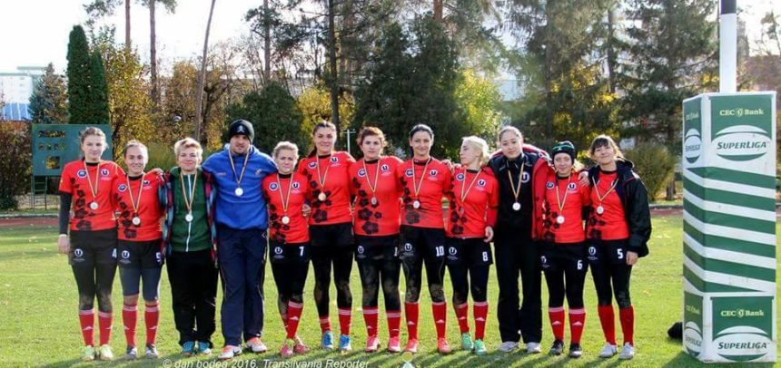 Bronz pentru rugbyste la final de campionat
