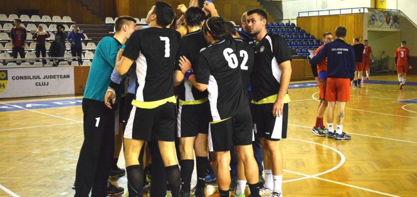 Victorie pentru handbaliștii clujeni la Sibiu
