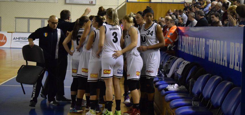 Meci dificil la Brașov pentru baschetbaliste