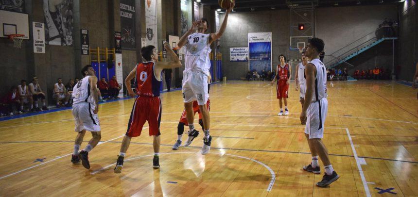 Echipa de baschet masculin joacă la Brăila