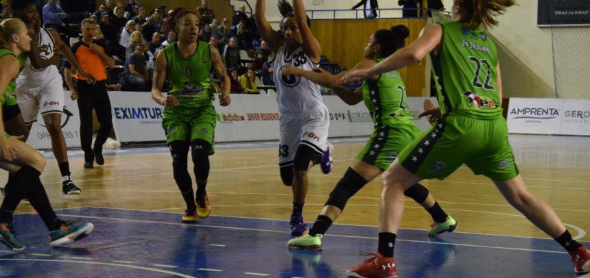 Prima deplasare a sezonului la Sfântu Gheorghe pentru echipa de baschet feminin