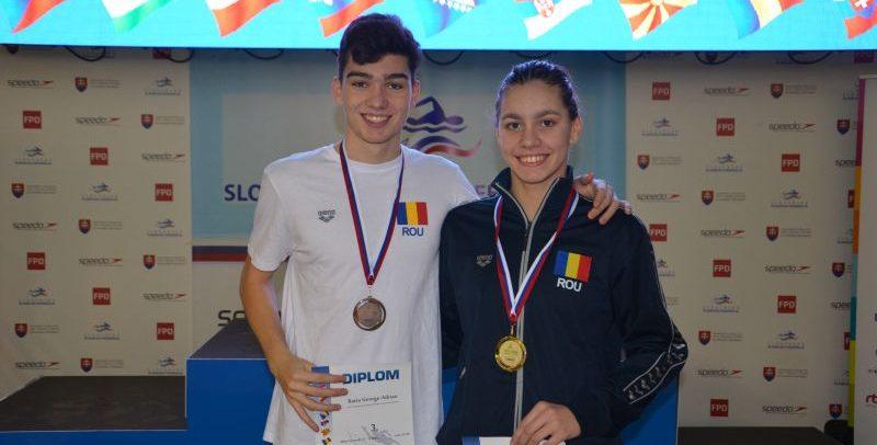 Șapte medalii la Concursul Țărilor Central-Europene