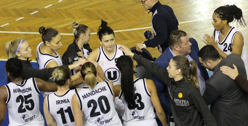 Echipa de baschet feminin, victorioasă în fața Aradului