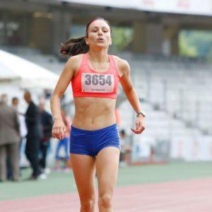 Camelia Gal aleargă la Campionatele Balcanice