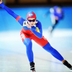 Raluca Ștef patinează la Inzell pentru medalii
