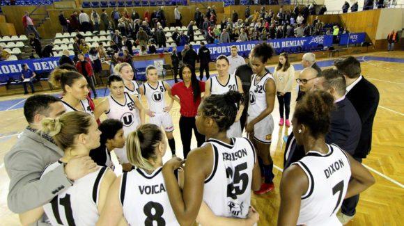 Formația de baschet feminin începe cursa spre finala campionatului