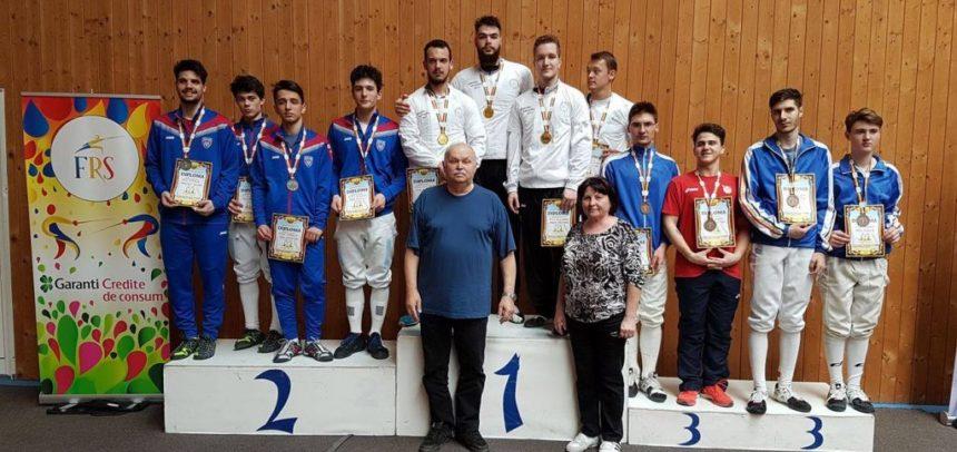 """Echipa de floretă """"U"""" Cluj, campioană națională la U23"""