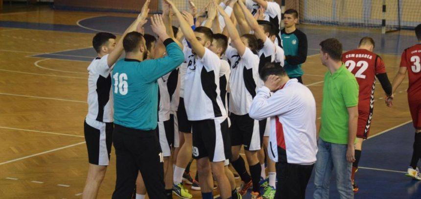 Victorie importantă pentru handbaliști cu ocupanta locului doi