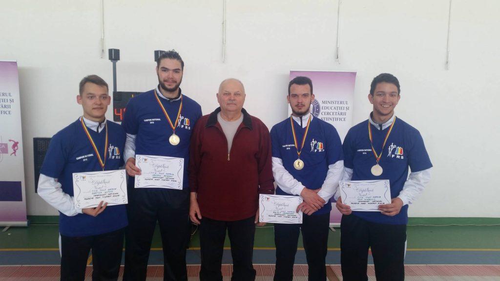 """Echipa CS """"U"""" campioana națională în 2016"""