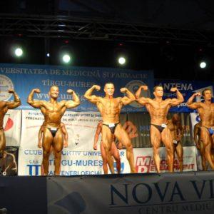 Culturiștii își încoardă mușchii pentru medalii la Tg. Mureș