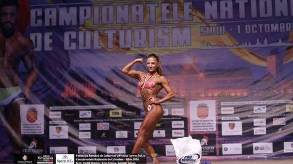 Andreea Ungureanu participă la Campionatele Balcanice