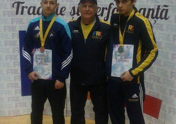 Molnoș și Juon, pe podium la Craiova