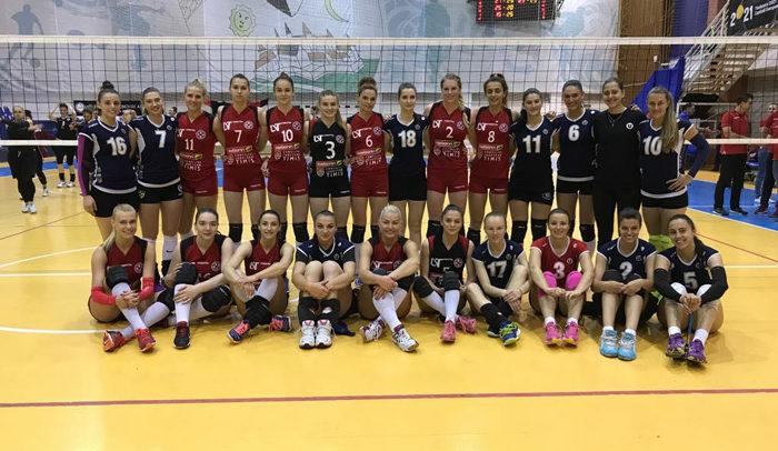 Echipa de volei feminin a promovat în Divizia A1
