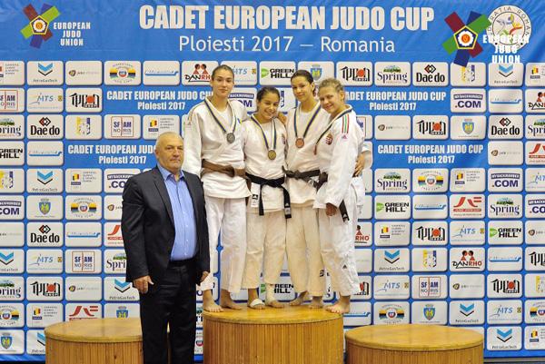 Medalie de argint pentru Paula Gliga la Cupa Europeană de Judo