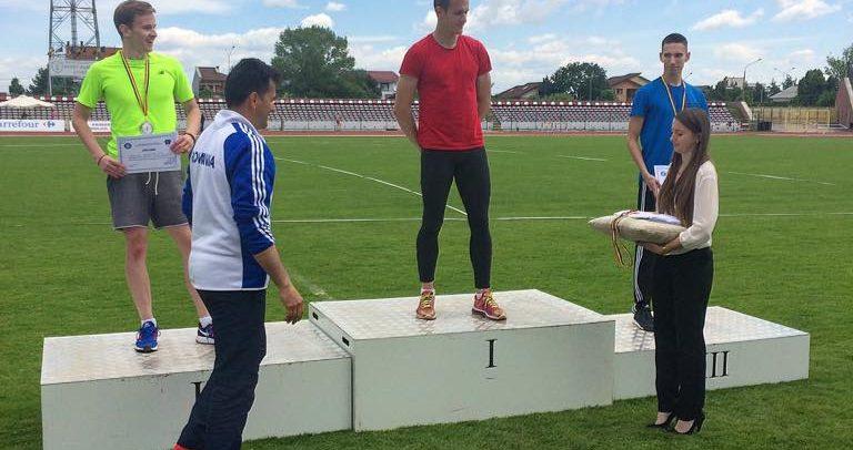 Rezultate bune la competițiile de atletism de la Pitești