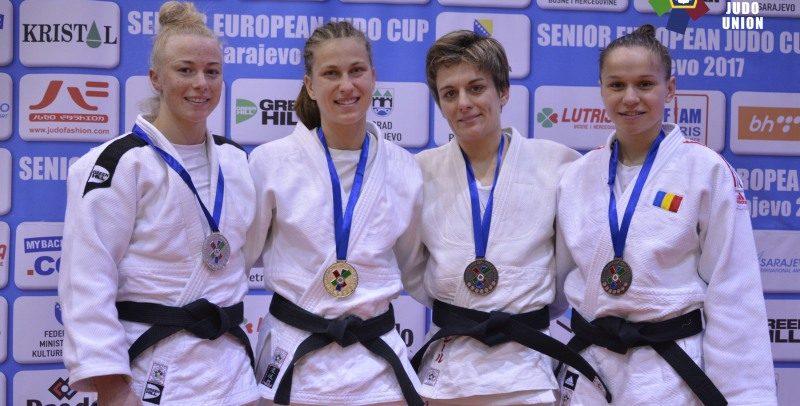 Două medalii de bronz la Cupa Europeană de la  Sarajevo