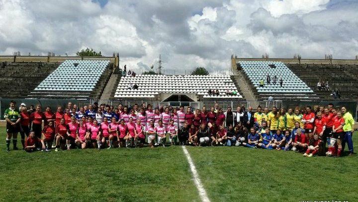 Sfârșit de tur de campionat pentru echipa de rugby feminin