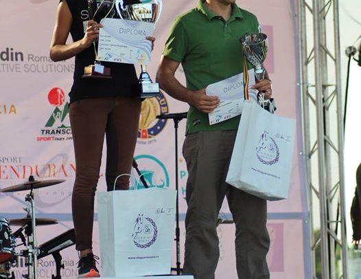 """Ignat Adrienn, câștigătoarea Trofeului """"Jockey Club"""""""