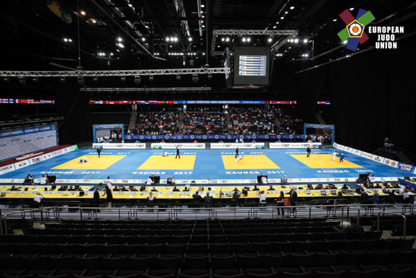 Rezultatele obținute de judoka CSU Cluj în Lituania