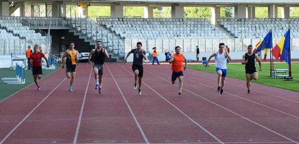 Atleții concurează în Finala Campionatului Național