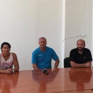 Declarații de la conferința de presă a echipei de handbal feminin