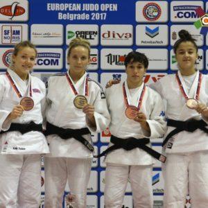 Aur pentru judoka Pop Alexandra la Belgrad