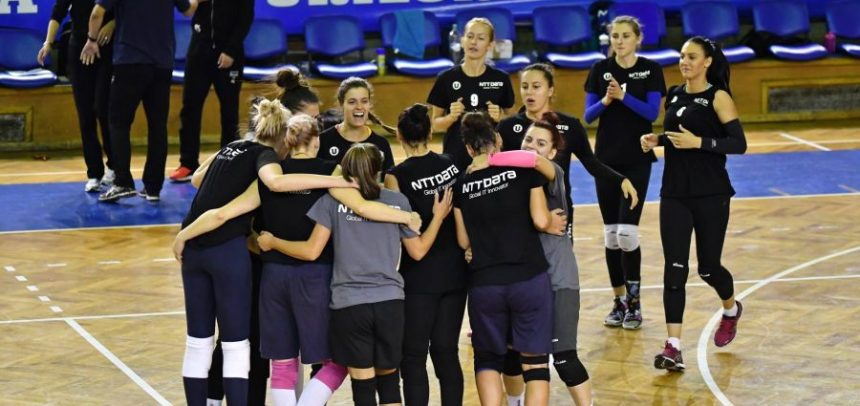 """""""U"""" NTT Data Cluj va merge la Timișoara pentru un nou turneu amical"""