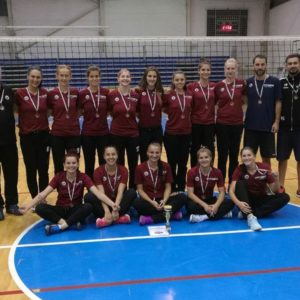 """U"" NTT Data, locul 3 la turneul din Ungaria"