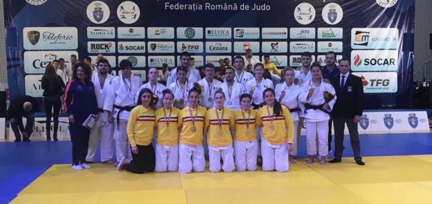 Trei medalii la Campionatul Național de Judo pe echipe