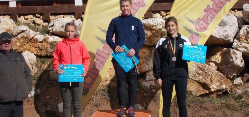 Boglárka Török, bronz la Campionatul Național de Schi-Role