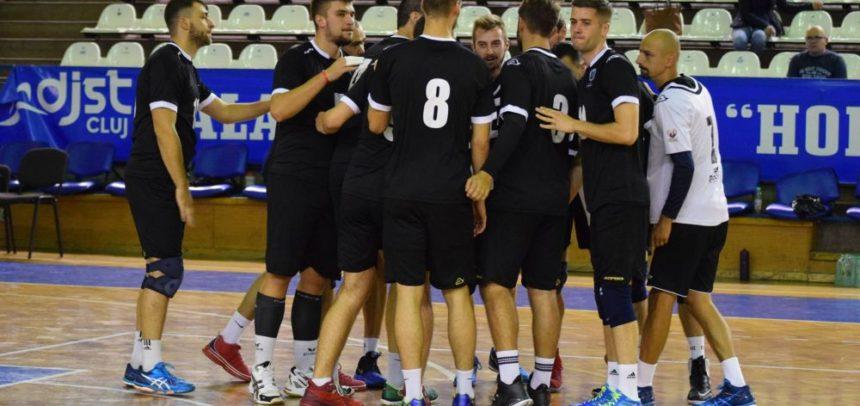 Debut cu dreptul în campionat pentru voleibaliști