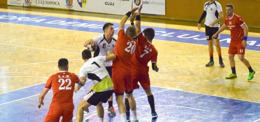 Handbaliștii au disputat trei meciuri amicale la Baia Mare