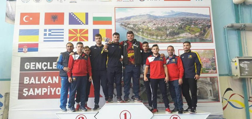 Molnoș Norbert, bronz cu echipa la Campionatul Balcanic