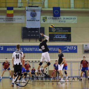 Meci cu Dinamo pentru voleibaliștii universitari
