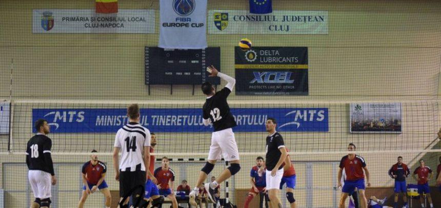 Voleibaliștii, meci cu CNE Baia Mare pe teren propriu