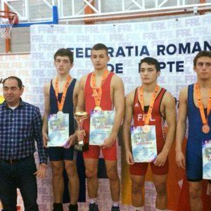 Medalii la Cupa României Juniori I pentru secția de lupte