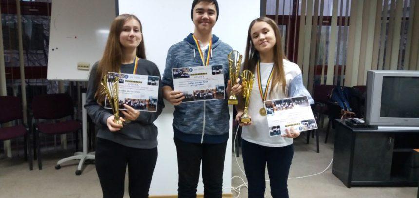 Două titluri de campioni naționali la scrabble anglofon tineret