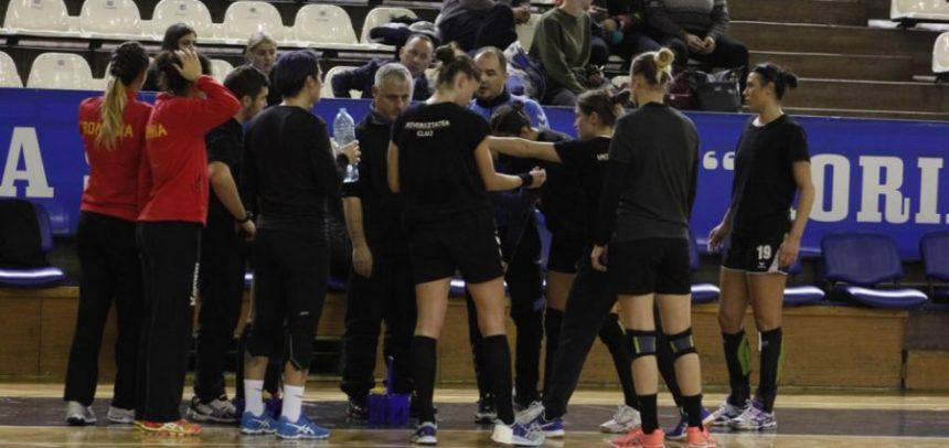 Handbalistele au cedat amicalul contra Coronei Brașov
