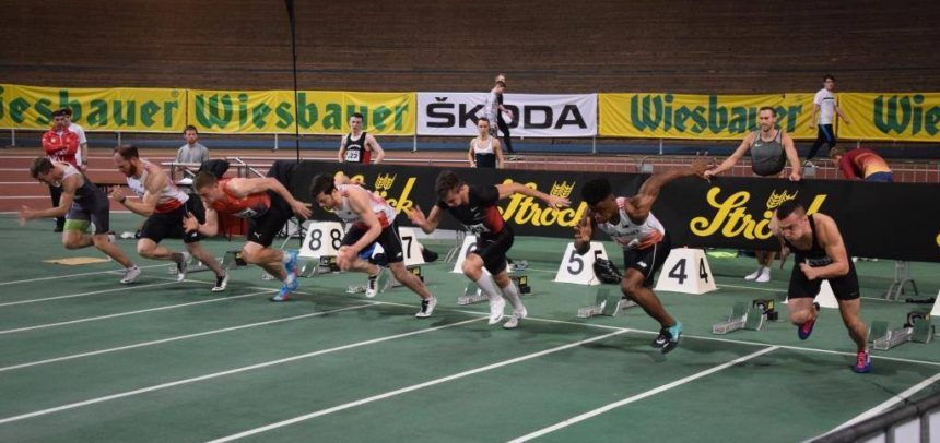 "Cinci atleți universitari la ""Indoor Track& Field Vienna"""