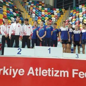 Trei medalii de aur pentru atleții universitari la Campionatul Balcanic