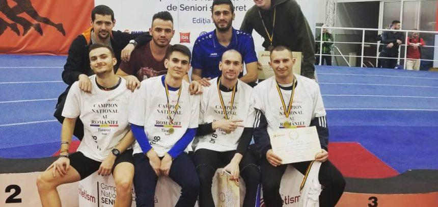 Patru medalii de aur și două de bronz la finala CN de Sală