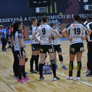 Handbalistele au cedat în Cupa României cu CSM Bistrița